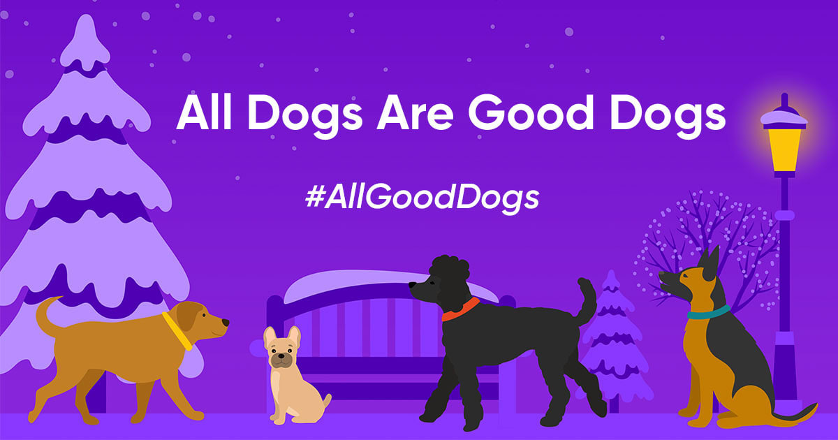 Embark's All dogs are good dogs contest
