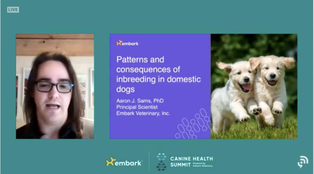 Canine Health Summit Dr. Aaron Sams