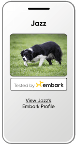 Tested by Embark Logos for Breeders