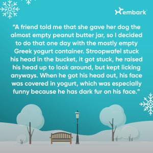 #AllGoodDogs The Goofy Gobbler Story
