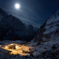Nepal, Himalayas, Annapurna region, Machhaphuchhre Base Camp