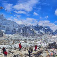 Mount Everest and Nuptse