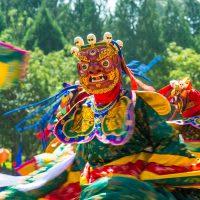 Tsechu Festival in Thimphu, Bhutan.