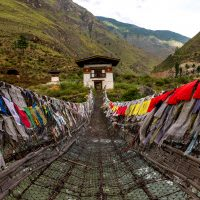 Tamchoe Monastery, Paro province Bhutan.