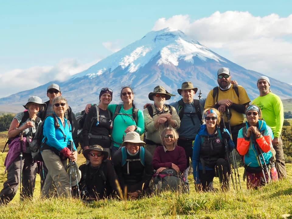 Hiking through the Volcanoes of Ecuador