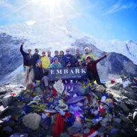 Embark group trekking to Everest Base Camp