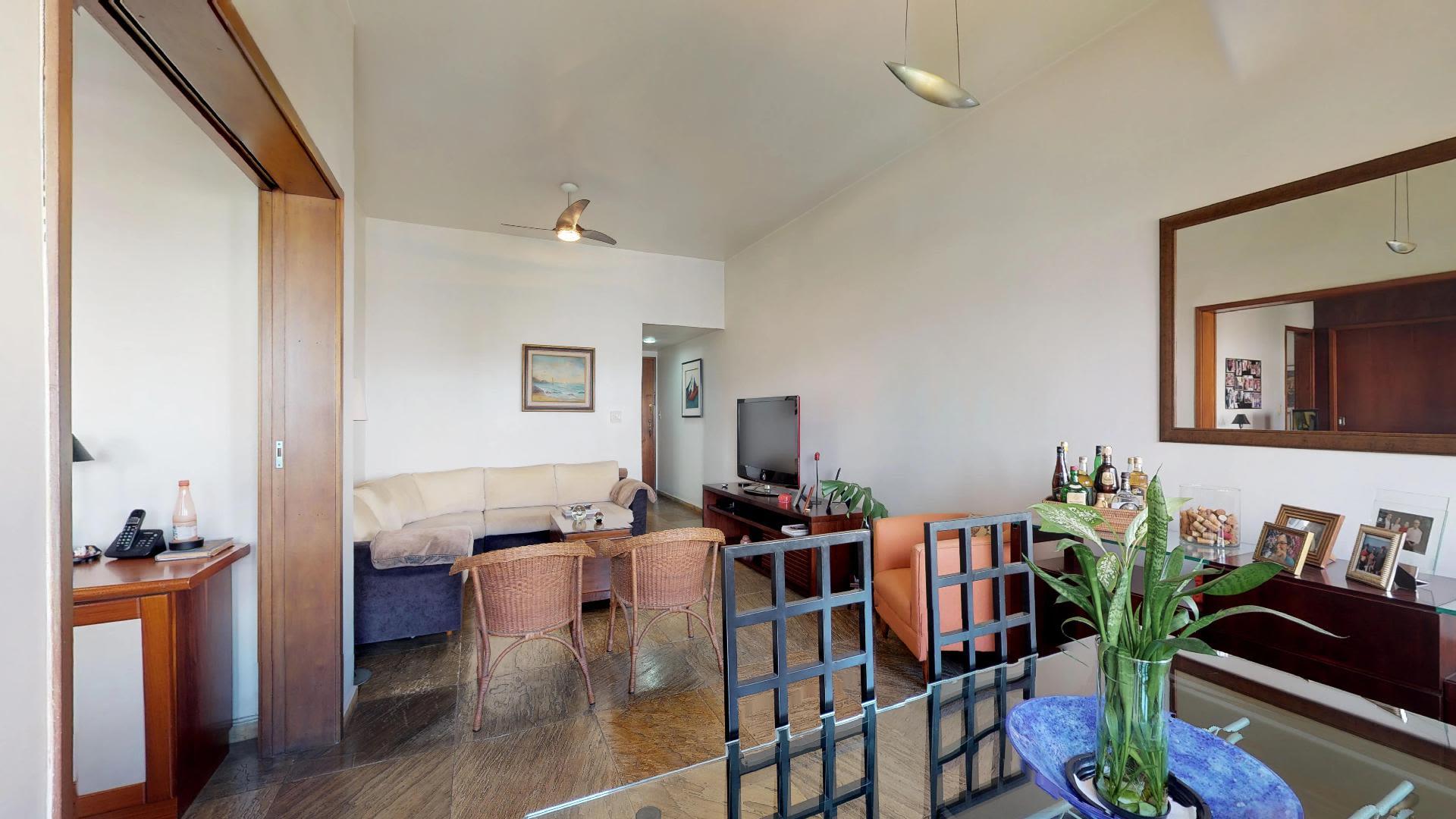 Imagem do Apartamento ID-2631 na Avenida Bartolomeu Mitre, Leblon, Rio de Janeiro - RJ