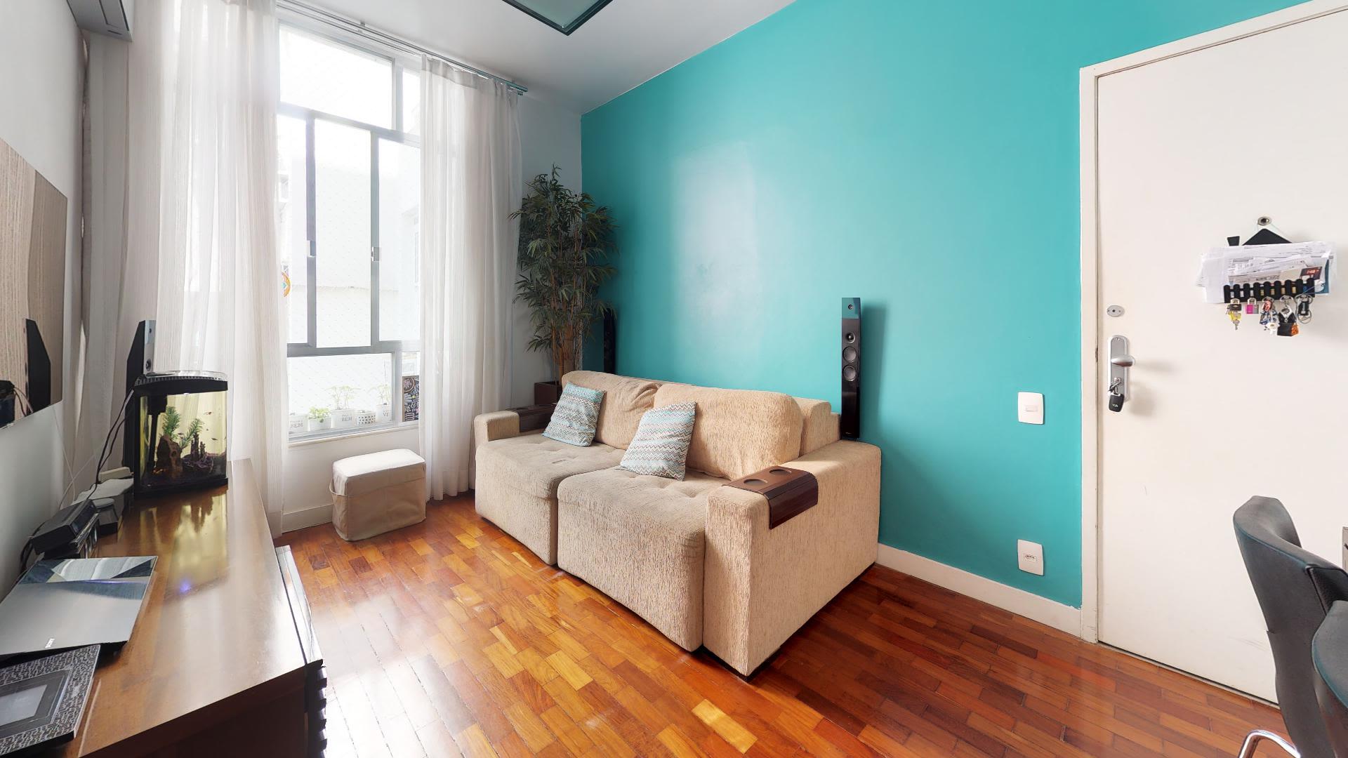 Imagem do Apartamento ID-789 na Rua Maestro Francisco Braga, Copacabana, Rio de Janeiro - RJ