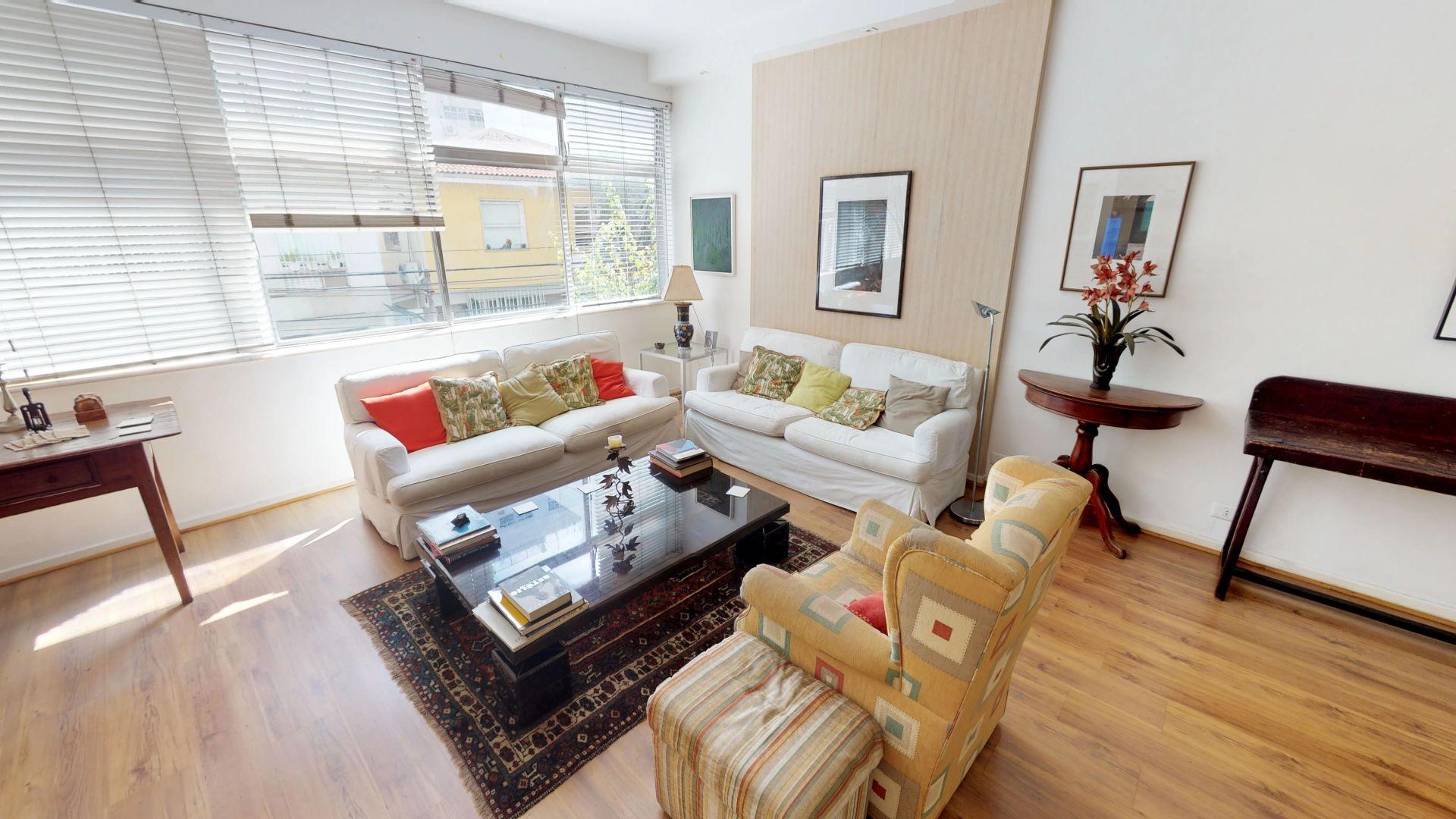 Imagem do Apartamento ID-3222 na Rua Professor Artur Ramos, Leblon, Rio de Janeiro - RJ
