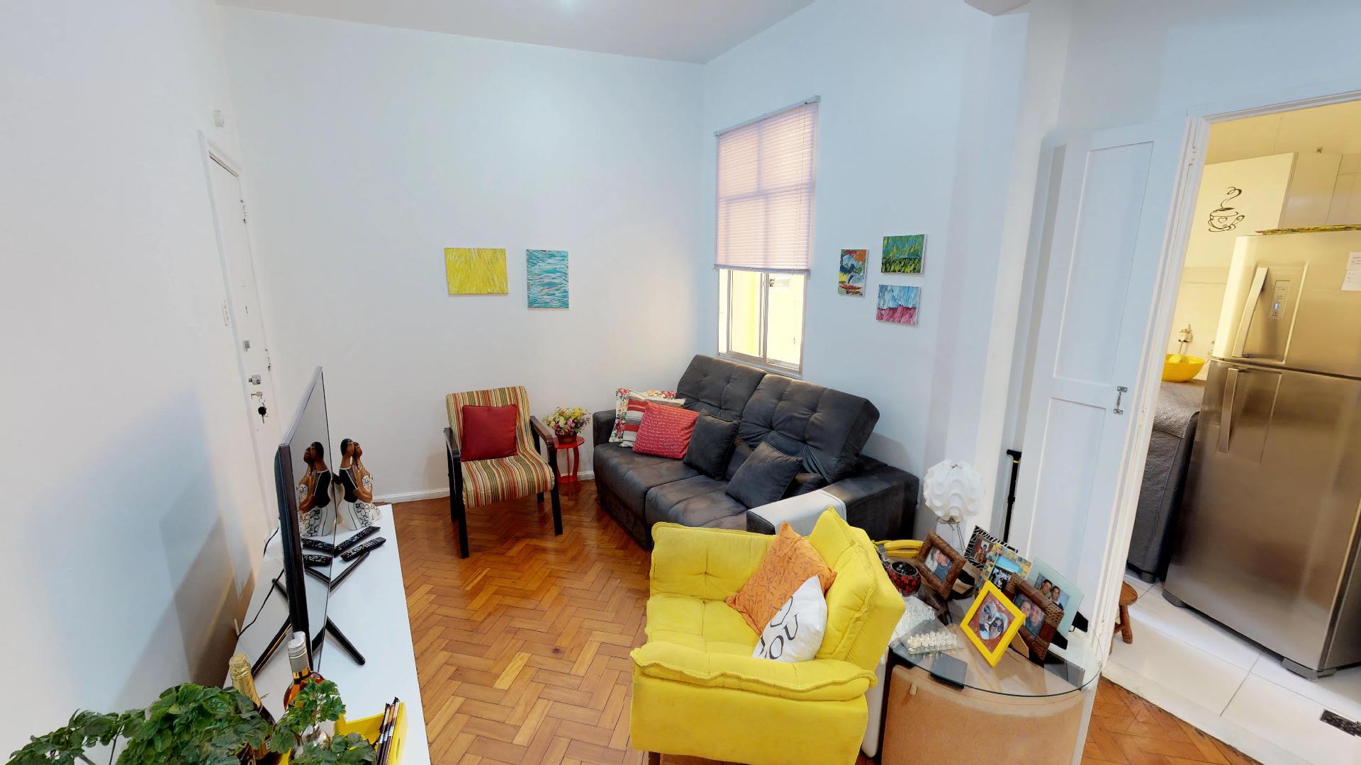 Imagem do Apartamento ID-346 na Rua Bolívar, Copacabana, Rio de Janeiro - RJ