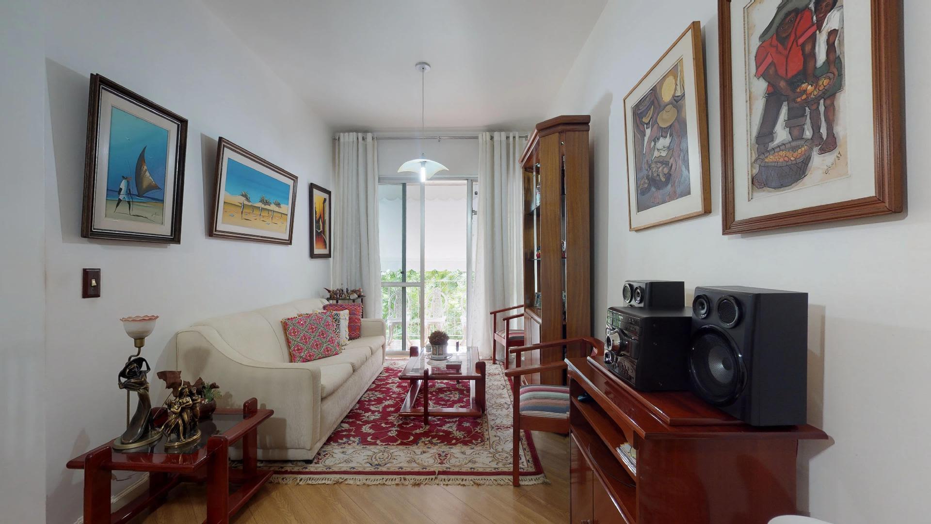 Imagem do Apartamento ID-1967 na Rua Cosme Velho, Cosme Velho, Rio de Janeiro - RJ