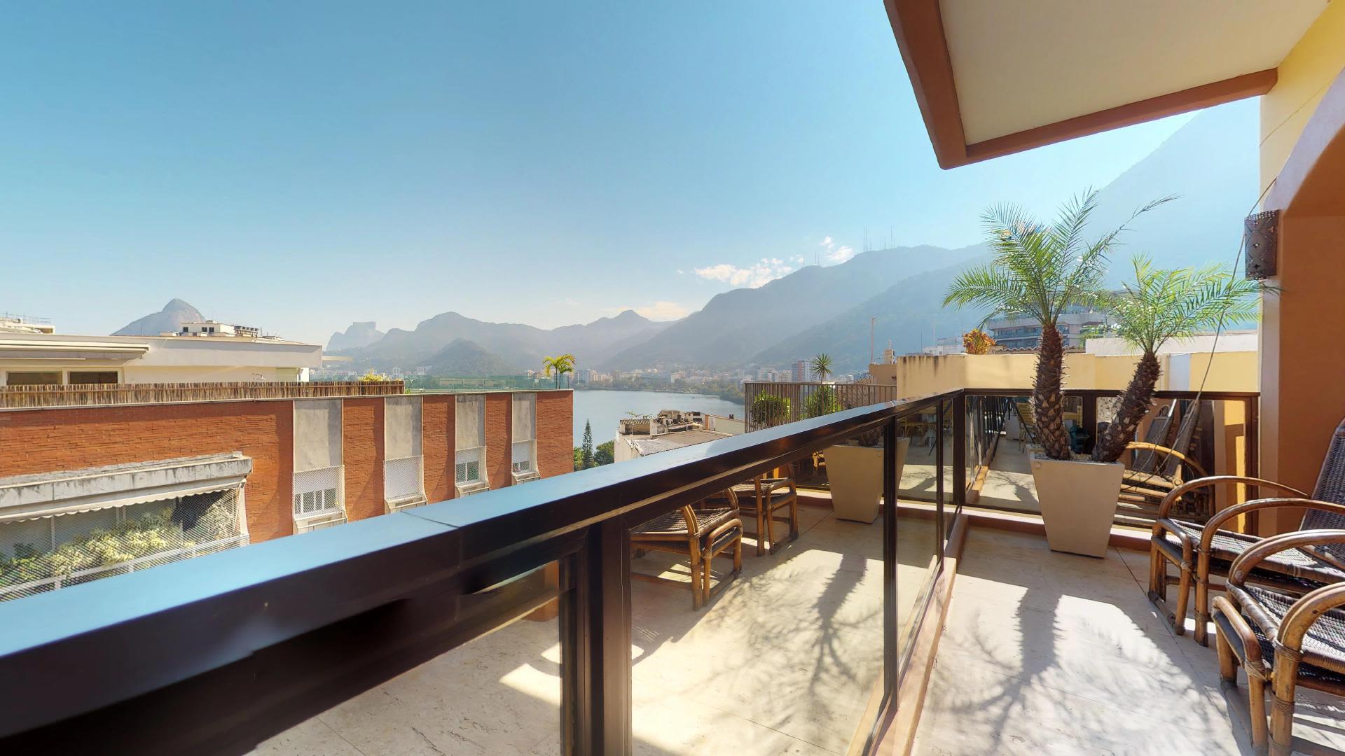 Imagem do Apartamento ID-652 na Rua Sacopã, Lagoa, Rio de Janeiro - RJ