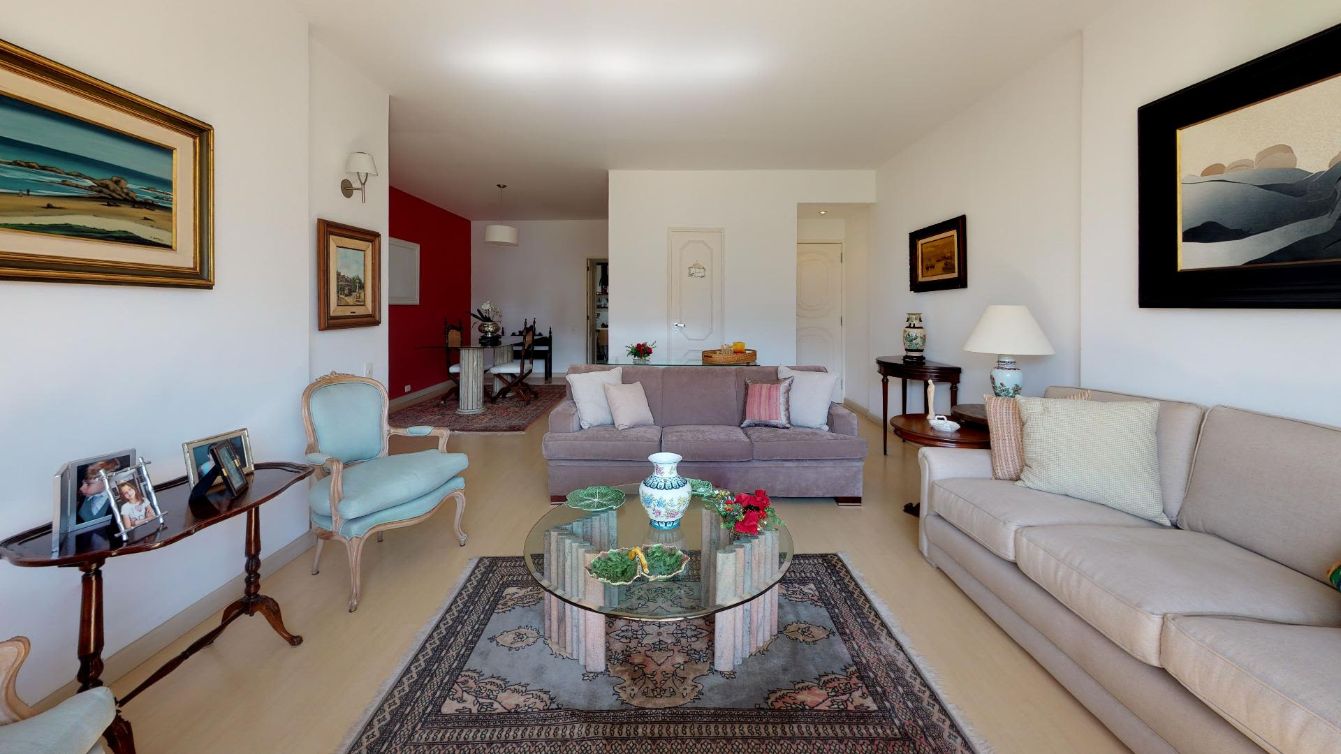 Imagem do Apartamento ID-2220 na Avenida Visconde de Albuquerque, Leblon, Rio de Janeiro - RJ