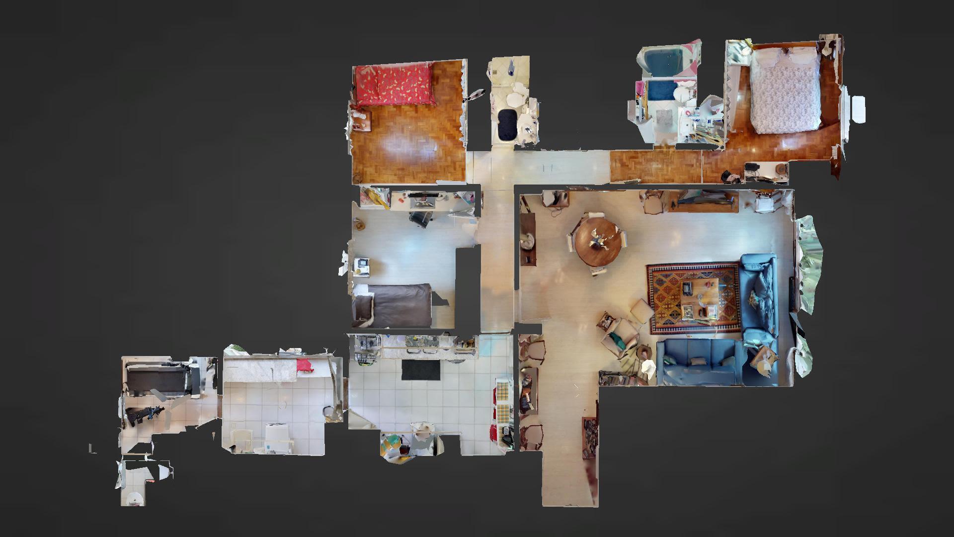 Imagem do Apartamento ID-286 na Rua Major Rubens Vaz, Gávea, Rio de Janeiro - RJ