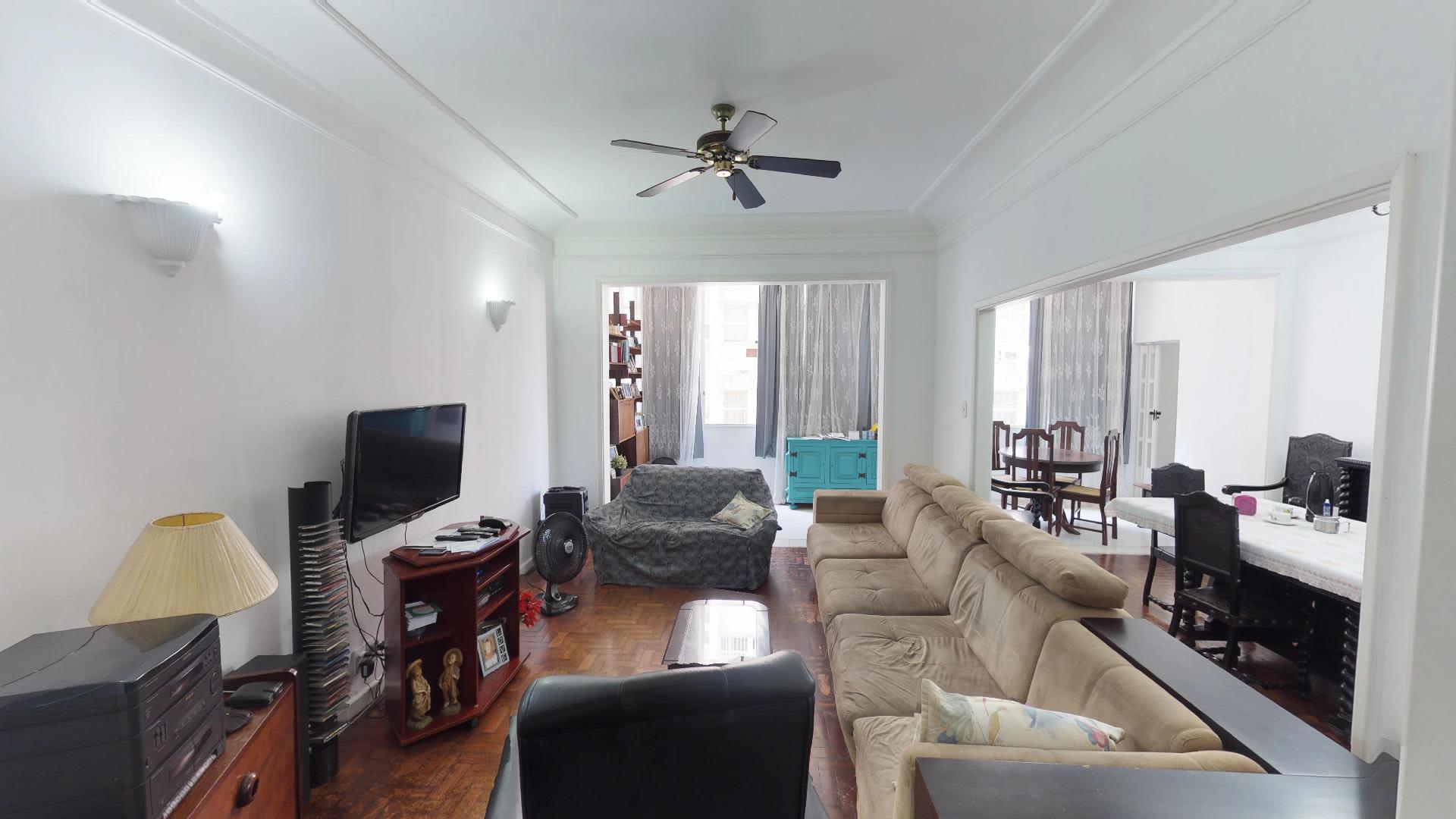 Imagem do Apartamento ID-126 na Rua Djalma Ulrich, Copacabana, Rio de Janeiro - RJ
