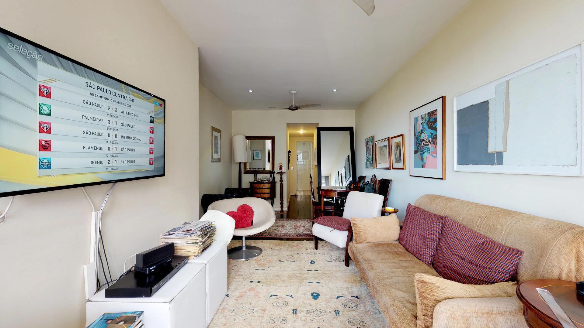 Imagem do Apartamento ID-769 na Rua Humaitá, Humaitá, Rio de Janeiro - RJ