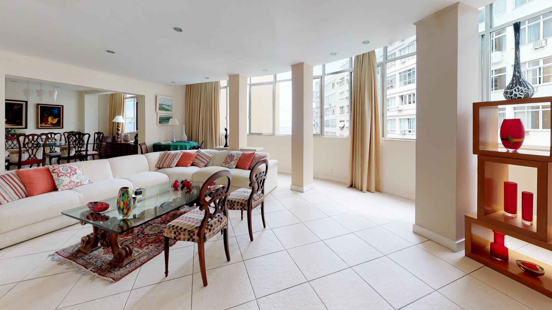 Imagem do Apartamento ID-1850 na Rua Domingos Ferreira, Copacabana, Rio de Janeiro - RJ