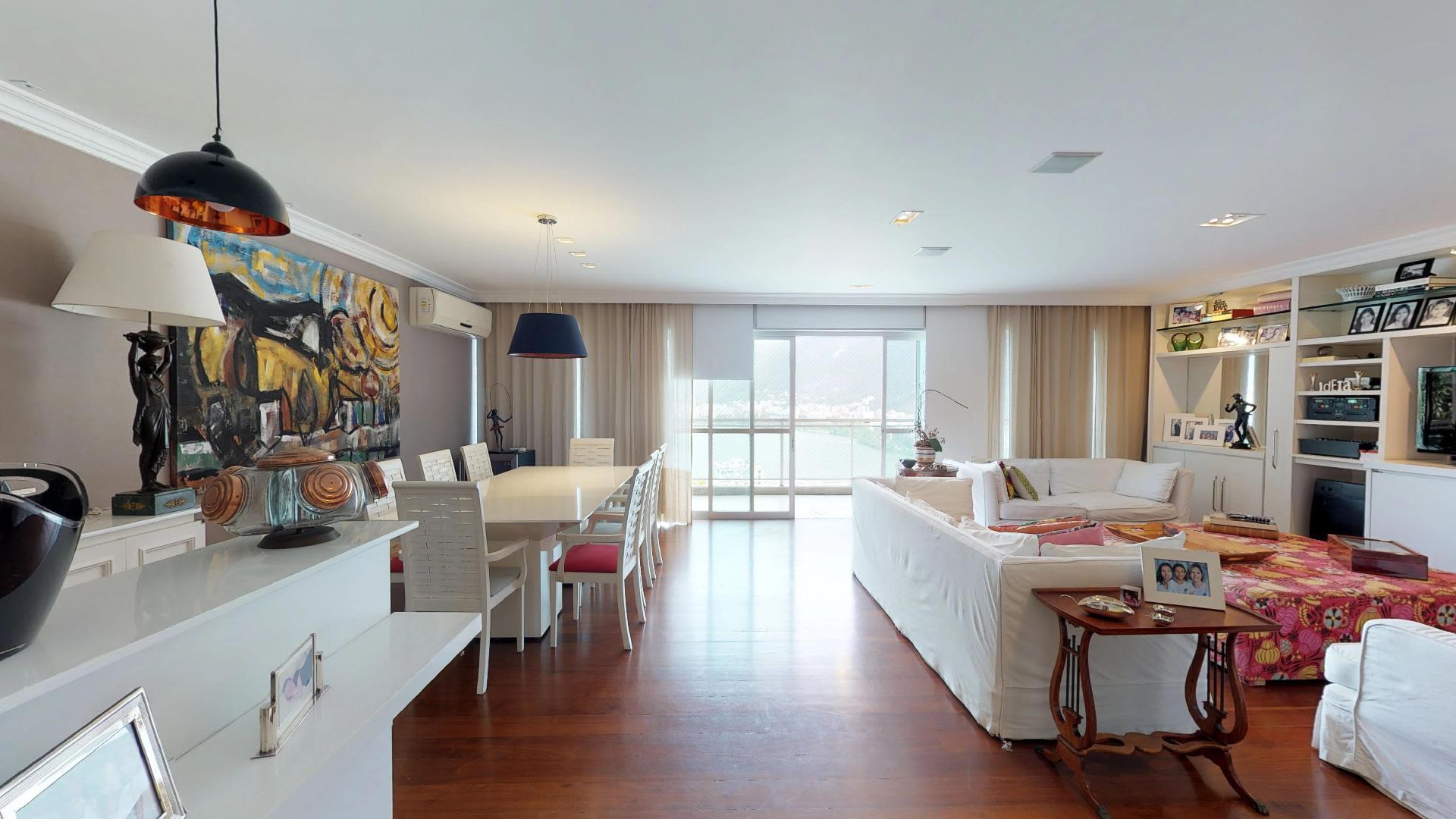 Imagem do Apartamento ID-1311 na Rua Sacopã, Lagoa, Rio de Janeiro - RJ