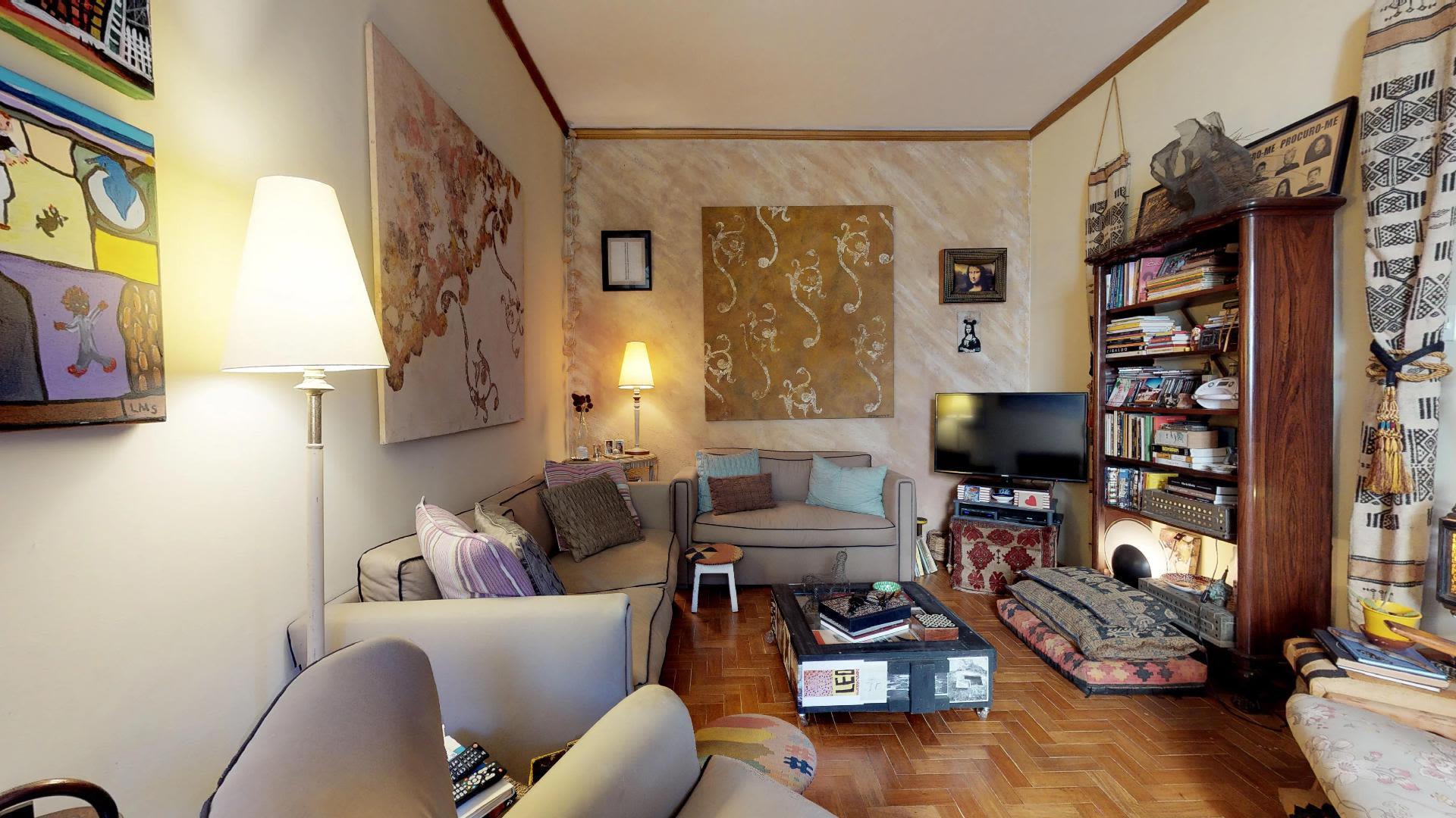 Imagem do Apartamento ID-555 na Rua Visconde de Caravelas, Botafogo, Rio de Janeiro - RJ