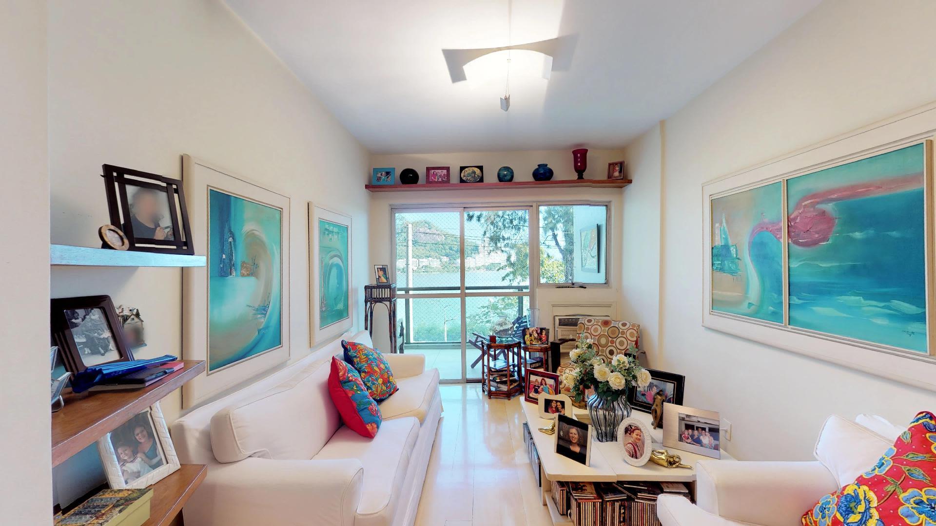 Imagem do Apartamento ID-1796 na Avenida Borges de Medeiros, Lagoa, Rio de Janeiro - RJ