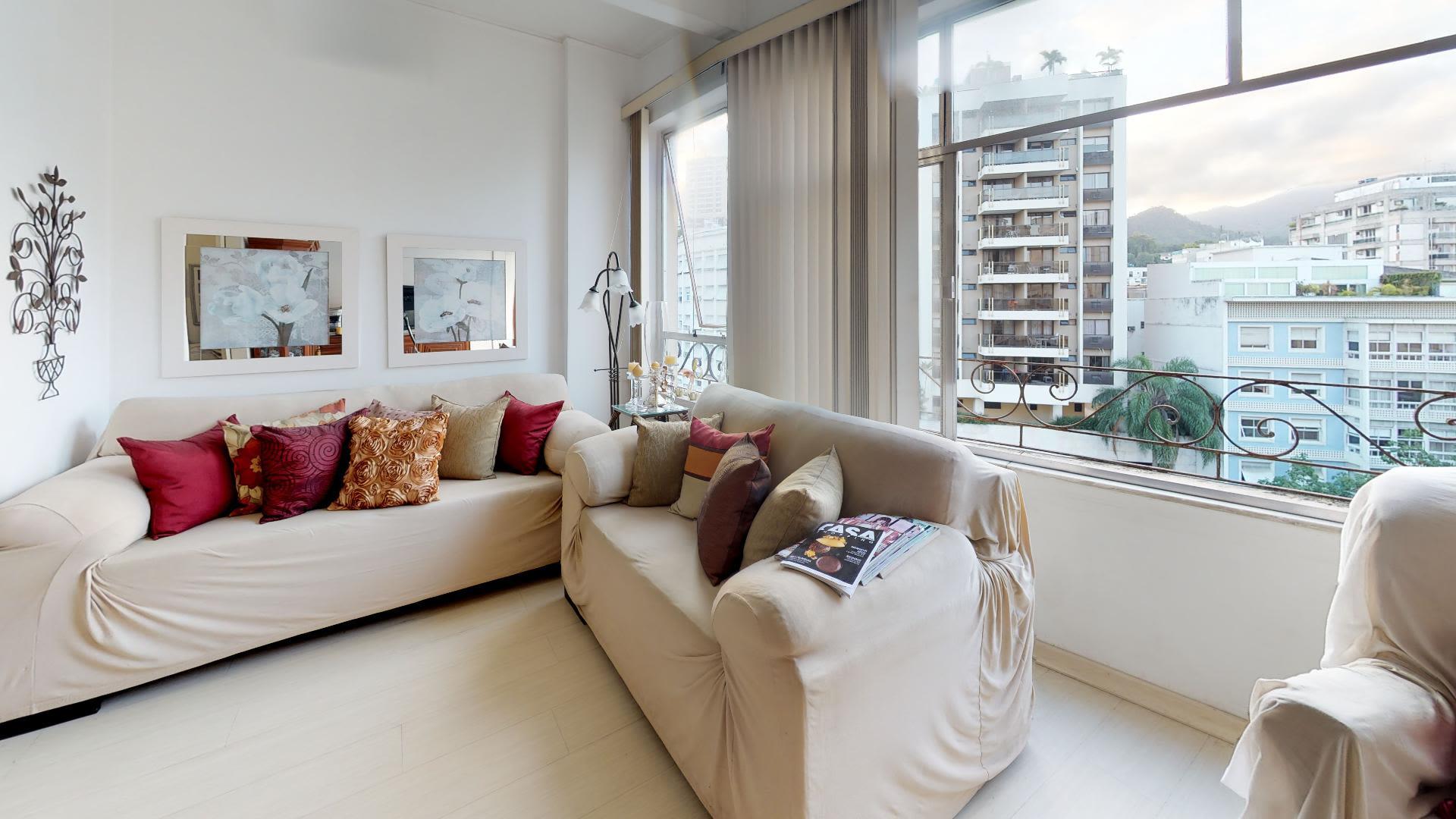 Imagem do Apartamento ID-2622 na Avenida Ataulfo de Paiva, Leblon, Rio de Janeiro - RJ