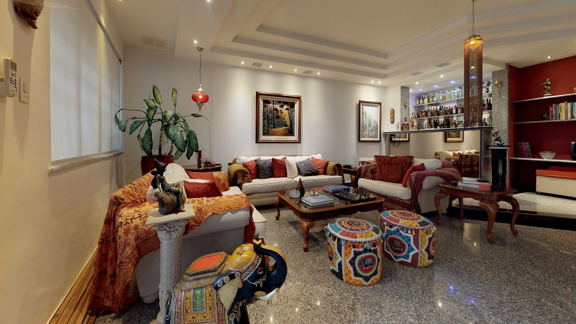Imagem do Apartamento ID-988 na Rua Pereira da Silva, Laranjeiras, Rio de Janeiro - RJ
