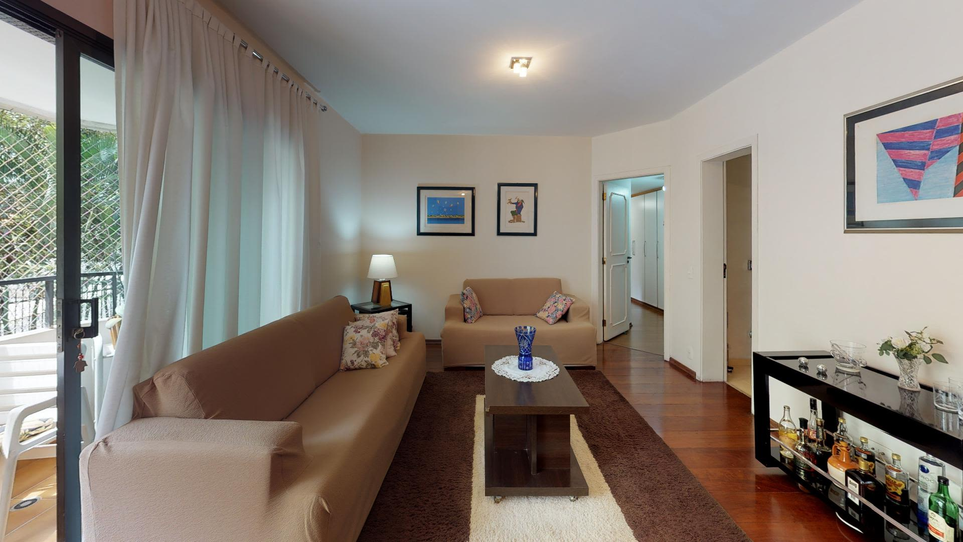 Imagem do Apartamento ID-1568 na Rua Paraguaçu, Perdizes, São Paulo - SP