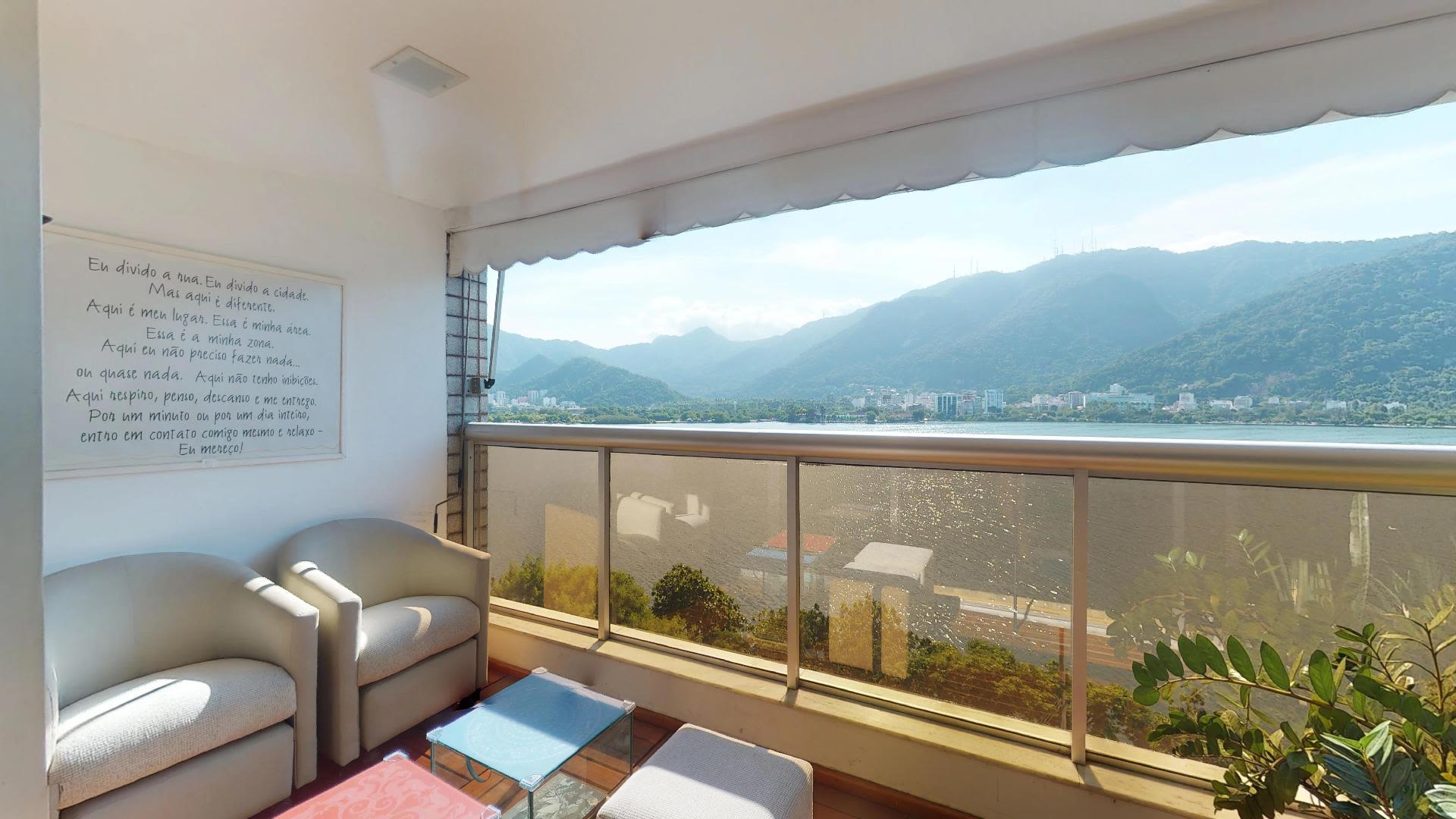 Imagem do Apartamento ID-2379 na Avenida Epitácio Pessoa, Lagoa, Rio de Janeiro - RJ