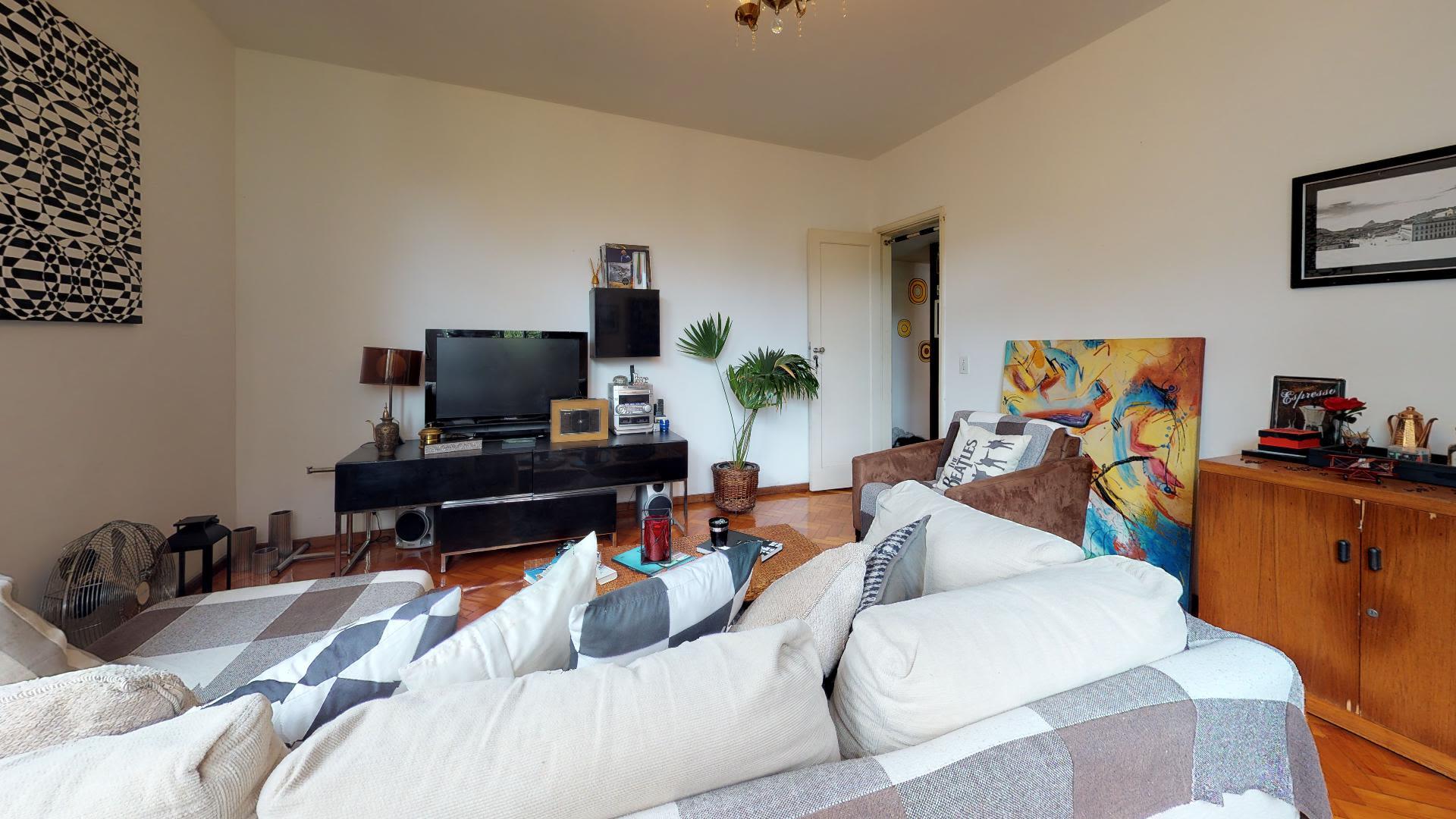 Imagem do Apartamento ID-1038 na Rua Humaitá, Humaitá, Rio de Janeiro - RJ