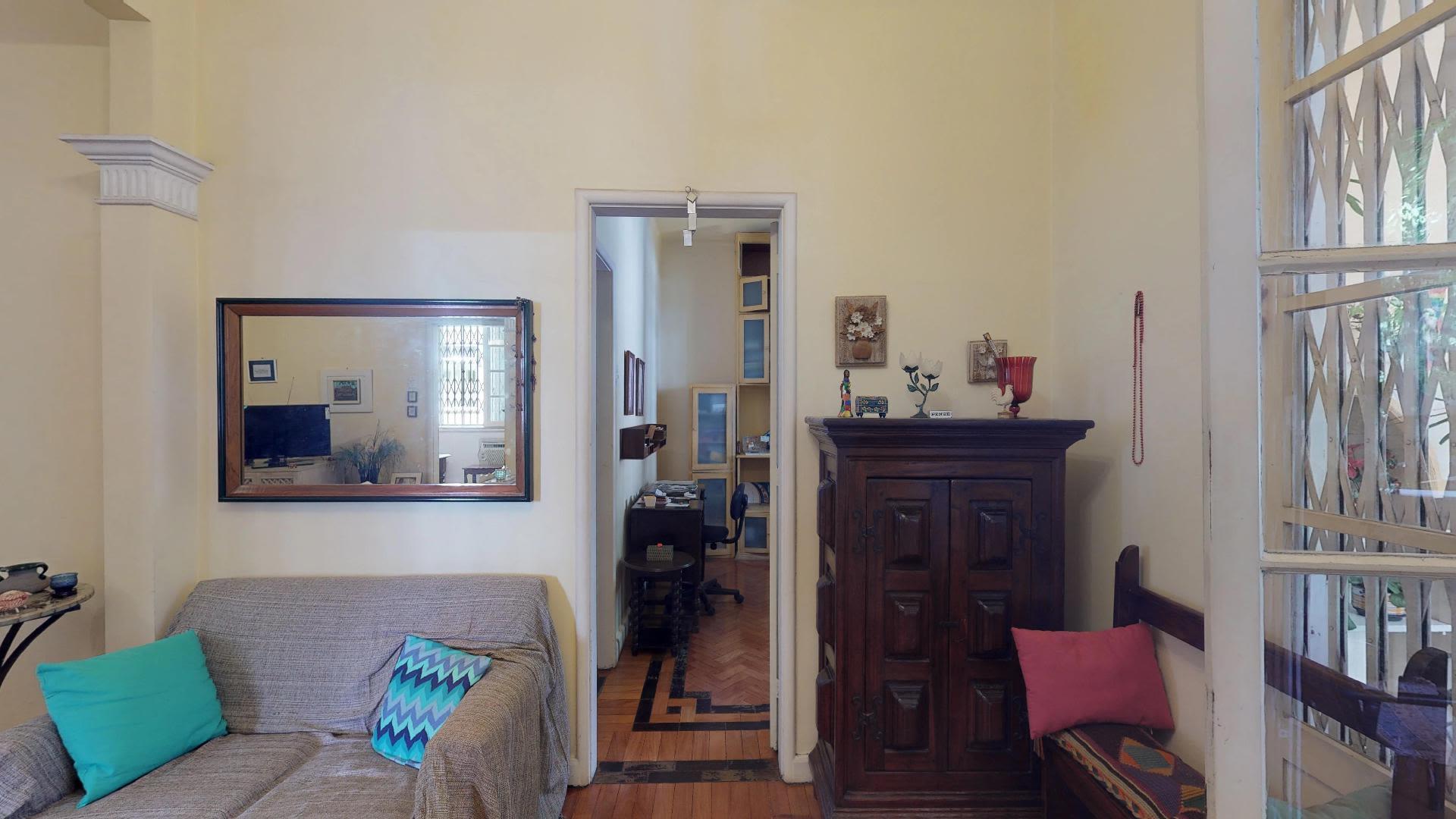 Imagem do Apartamento ID-1200 na Rua Conde Afonso Celso, Jardim Botânico, Rio de Janeiro - RJ