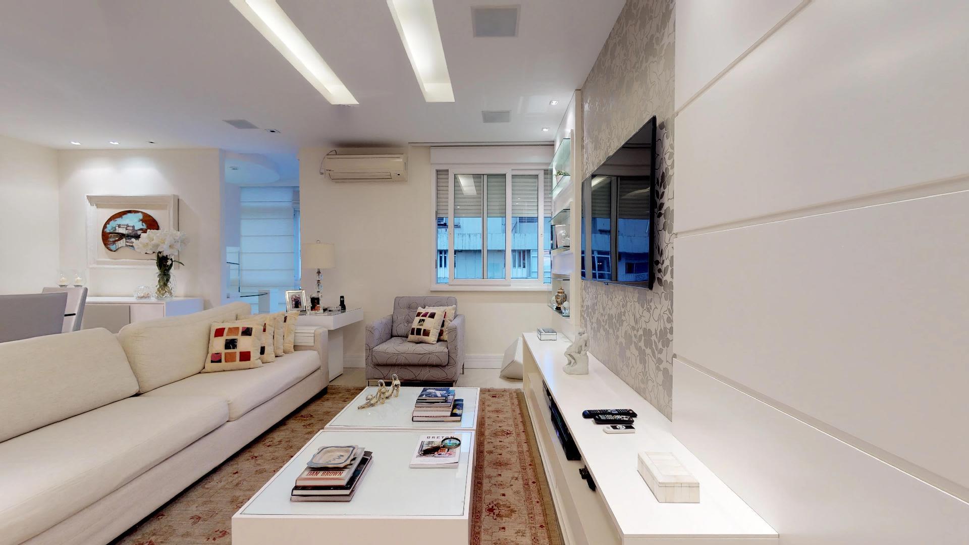 Imagem do Apartamento ID-1225 na Rua General Olímpio Mourão Filho, São Conrado, Rio de Janeiro - RJ