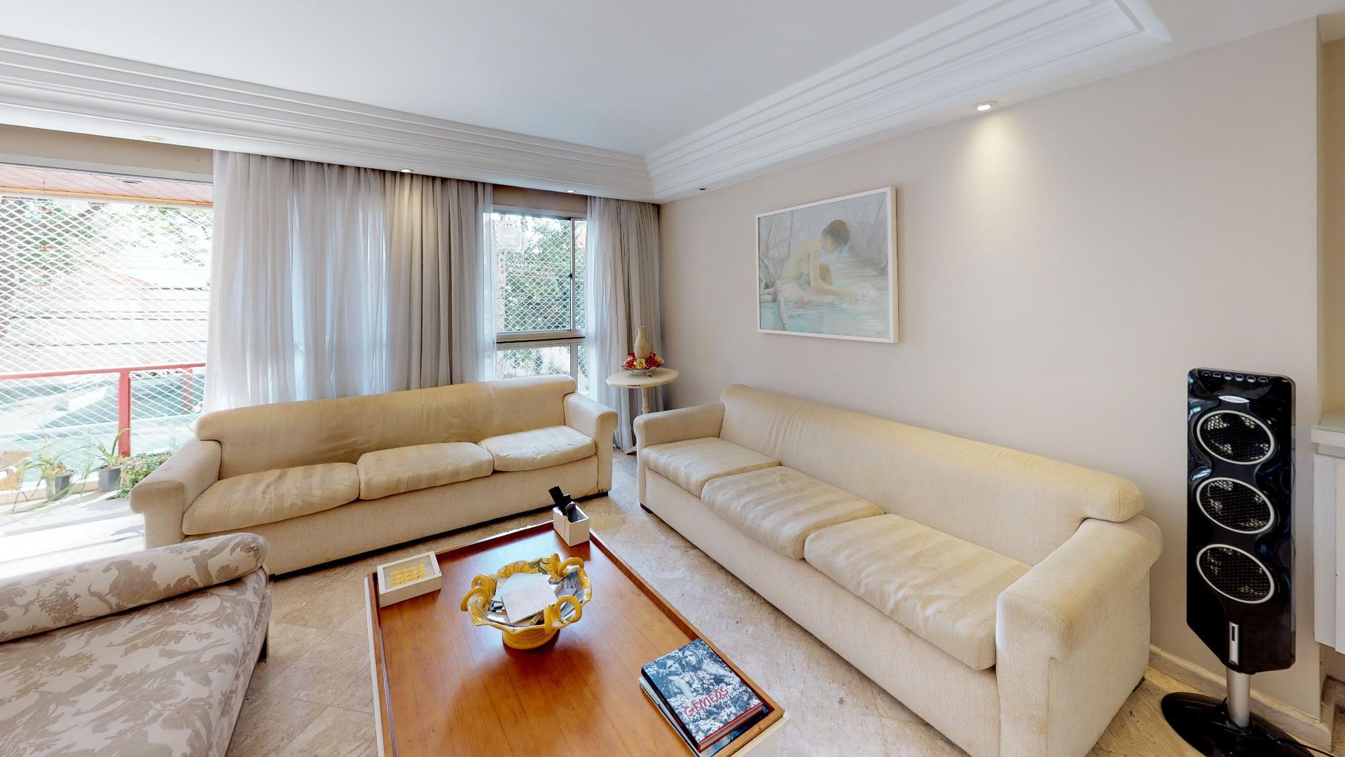 Imagem do Apartamento ID-1231 na Rua Doutor Franco da Rocha, Perdizes, São Paulo - SP