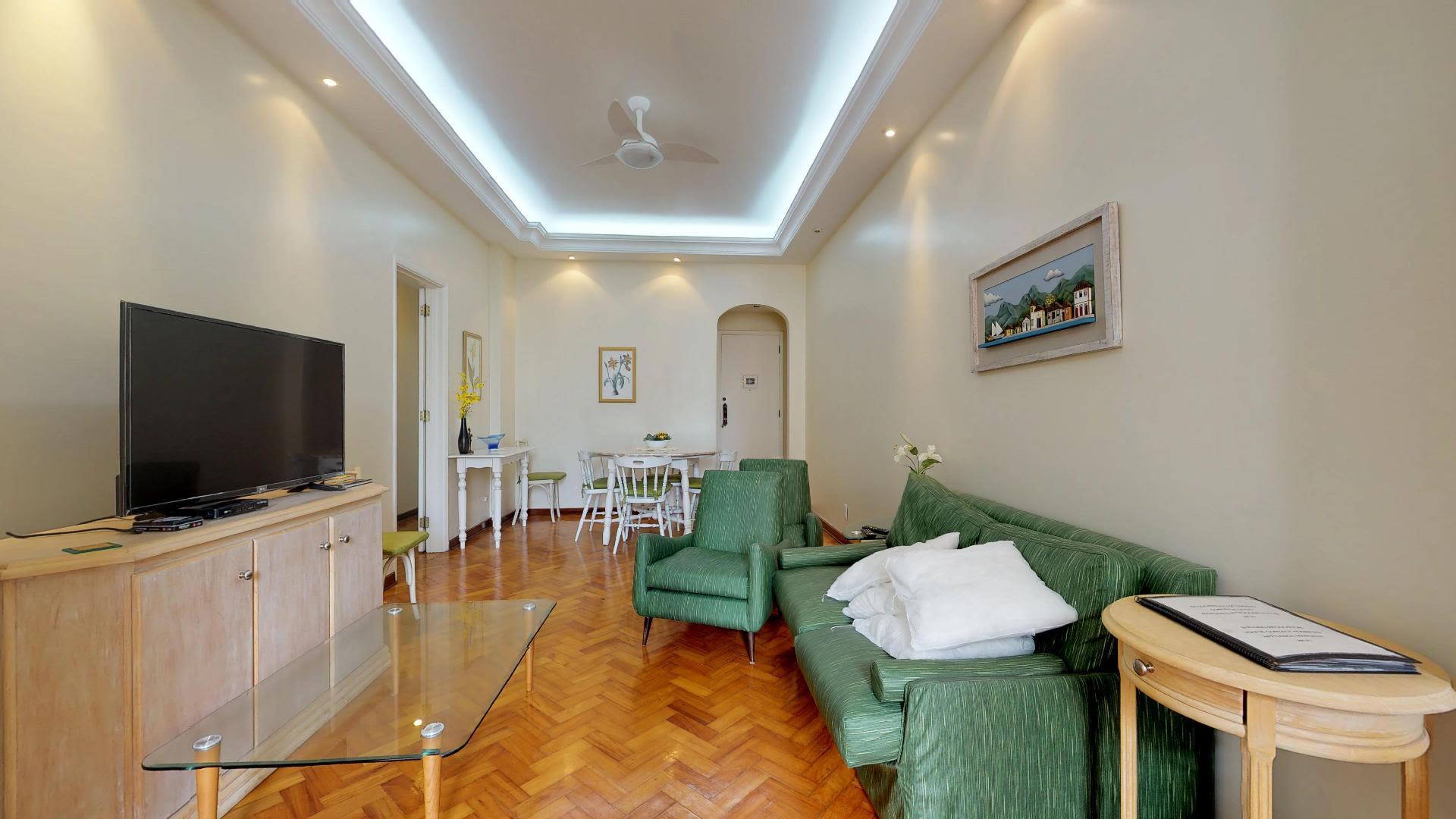 Imagem do Apartamento ID-1077 na Rua Raul Pompéia, Copacabana, Rio de Janeiro - RJ