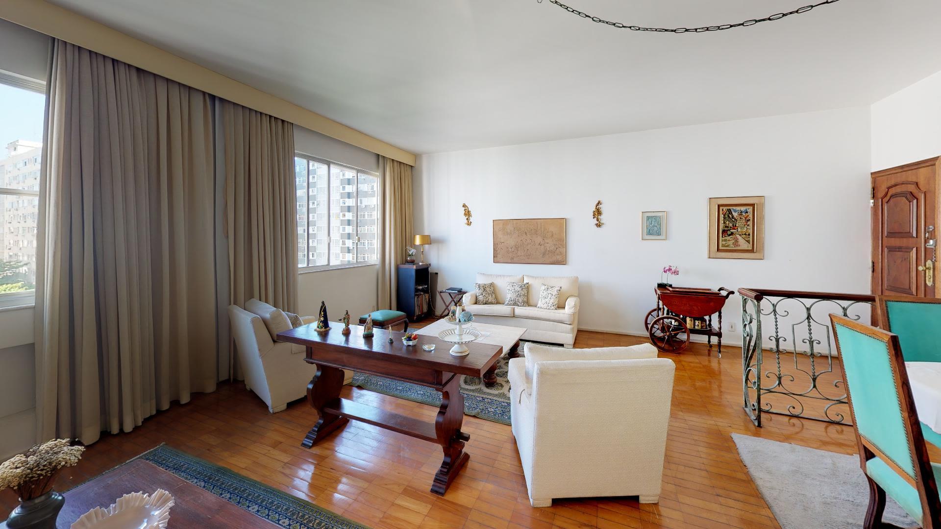 Imagem do Apartamento ID-1442 na Rua Almirante Pereira Guimarães, Leblon, Rio de Janeiro - RJ