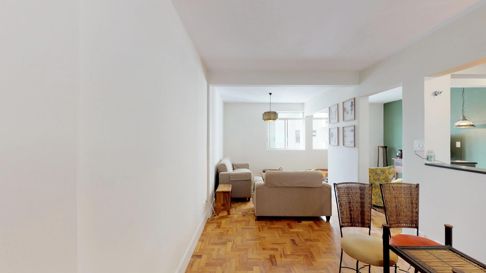 Imagem do Apartamento ID-2122 na Rua Monte Alegre, Perdizes, São Paulo - SP
