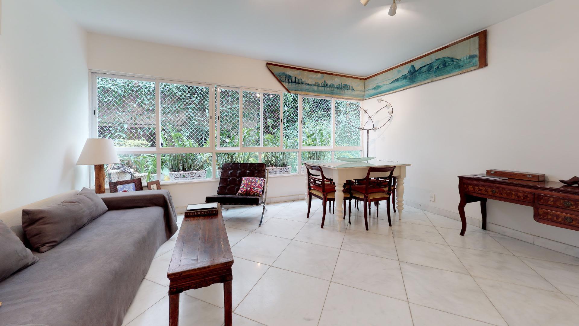 Imagem do Apartamento ID-795 na Rua Igarapava, Leblon, Rio de Janeiro - RJ