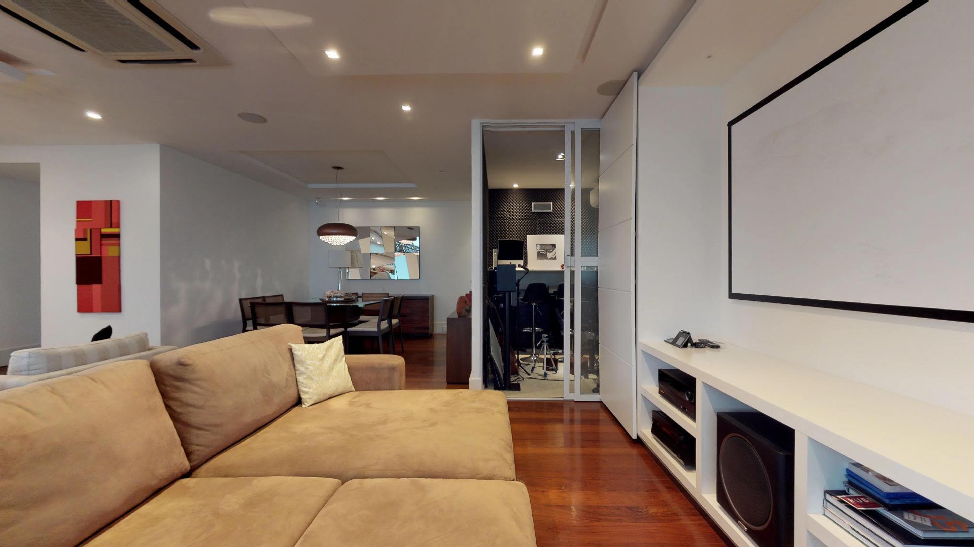 Imagem do Apartamento ID-2124 na Rua Timóteo da Costa, Leblon, Rio de Janeiro - RJ