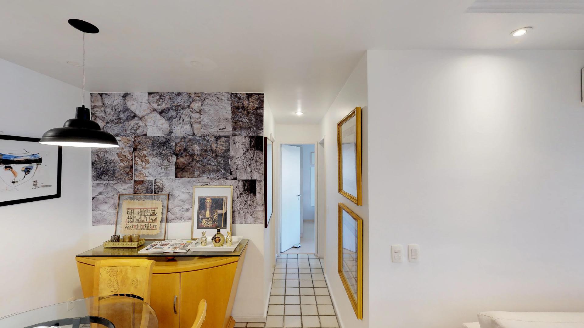 Imagem do Apartamento ID-429 na Avenida Bartolomeu Mitre, Leblon, Rio de Janeiro - RJ