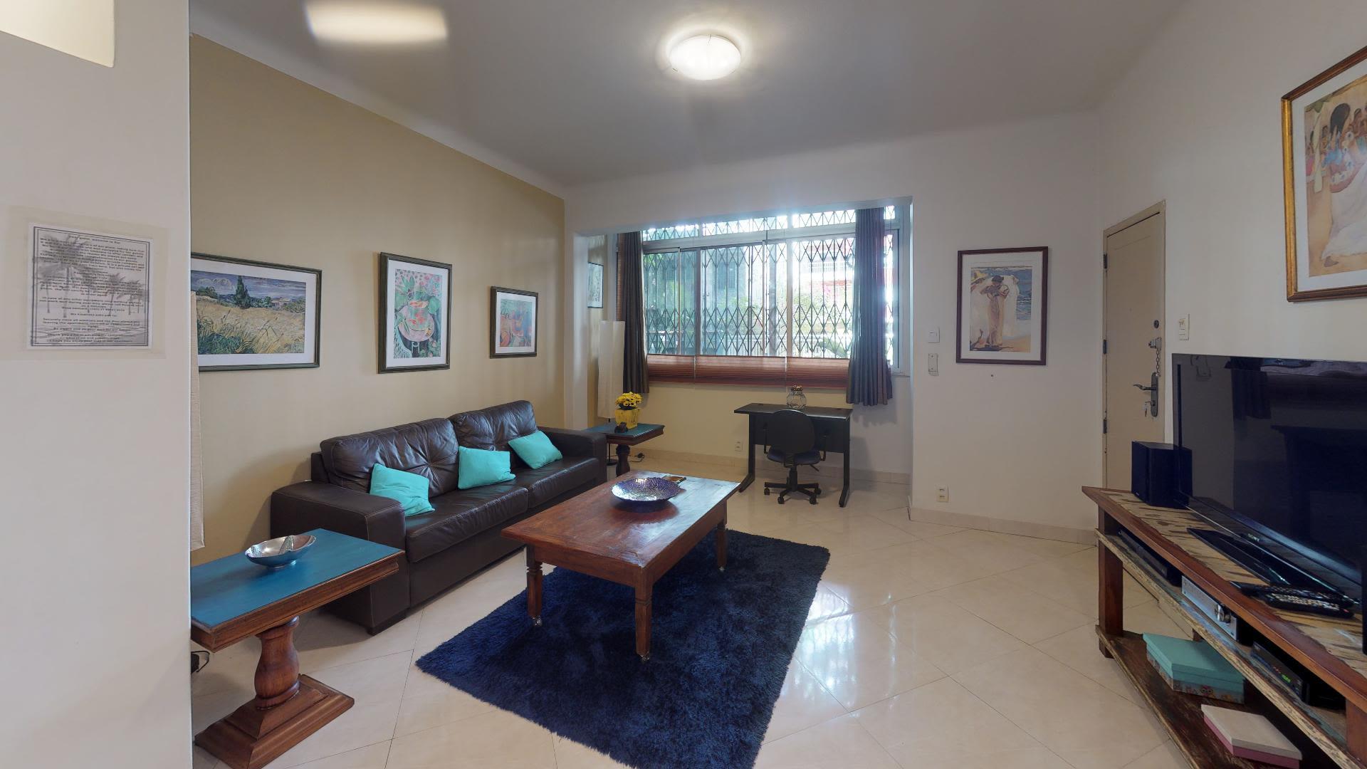 Imagem do Apartamento ID-1386 na Rua Vinícius de Moraes, Ipanema, Rio de Janeiro - RJ