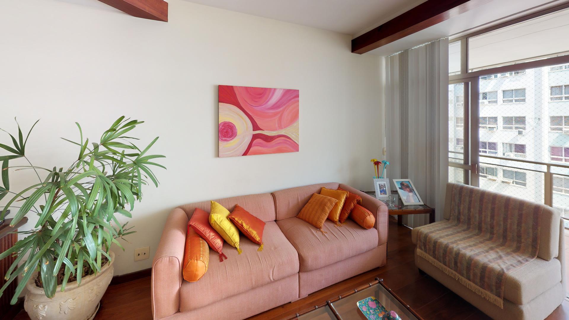 Imagem do Apartamento ID-2978 na Rua Santa Clara, Copacabana, Rio de Janeiro - RJ
