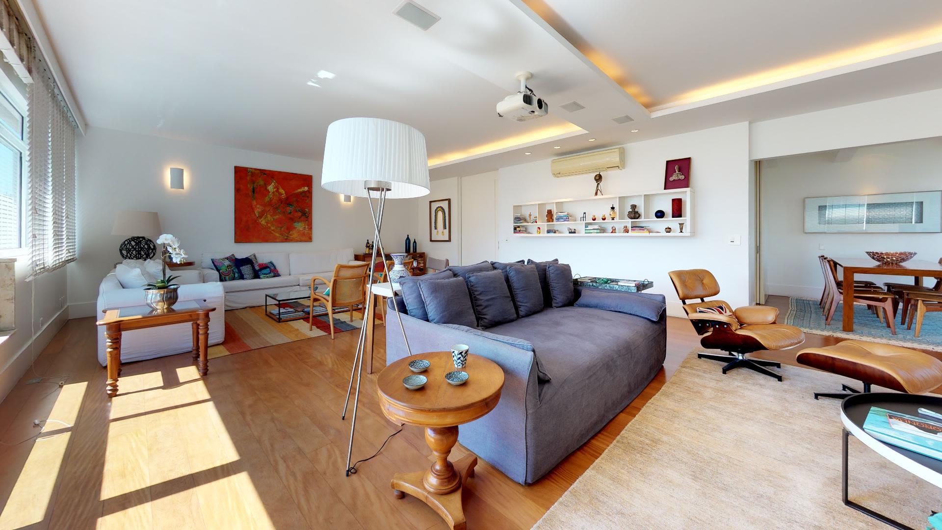 Imagem do Apartamento ID-749 na Rua Visconde de Pirajá, Ipanema, Rio de Janeiro - RJ