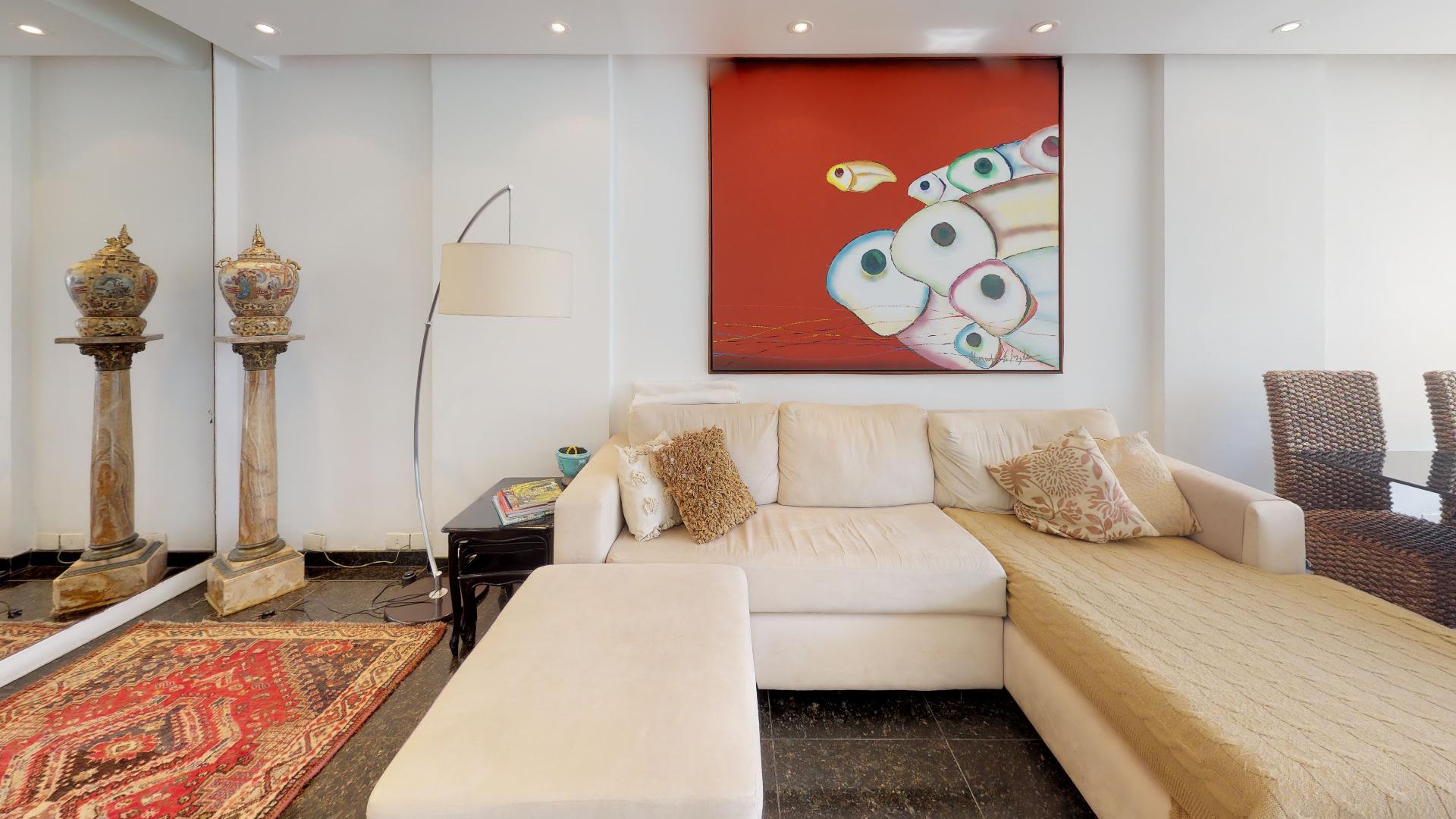 Imagem do Apartamento ID-2651 na Avenida Epitácio Pessoa, Lagoa, Rio de Janeiro - RJ