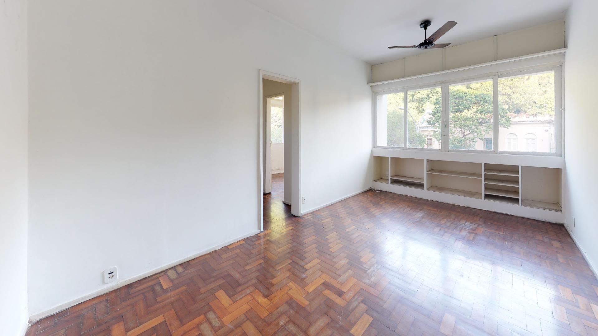 Imagem do Apartamento ID-3396 na Rua Pinheiro Machado, Laranjeiras, Rio de Janeiro - RJ