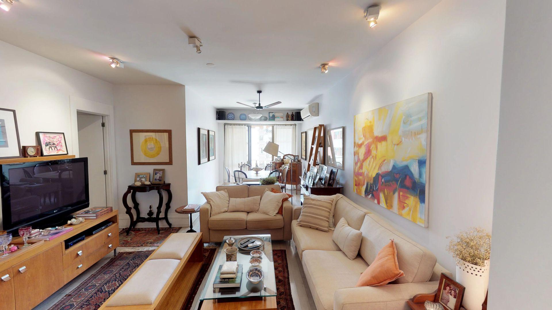 Imagem do Apartamento ID-7 na Rua Professor Manuel Ferreira, Gávea, Rio de Janeiro - RJ