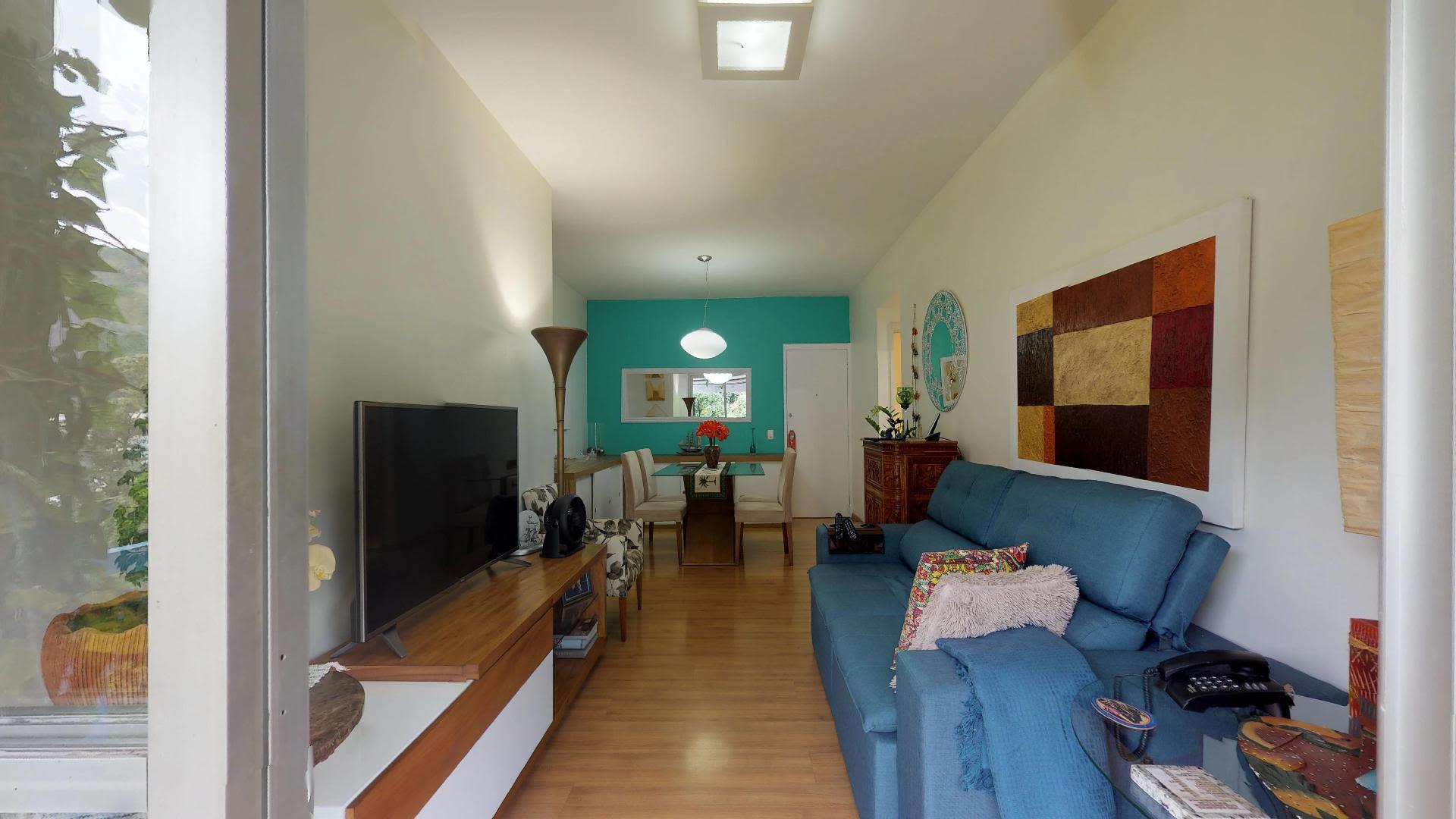 Imagem do Apartamento ID-1793 na Rua Humaitá, Humaitá, Rio de Janeiro - RJ