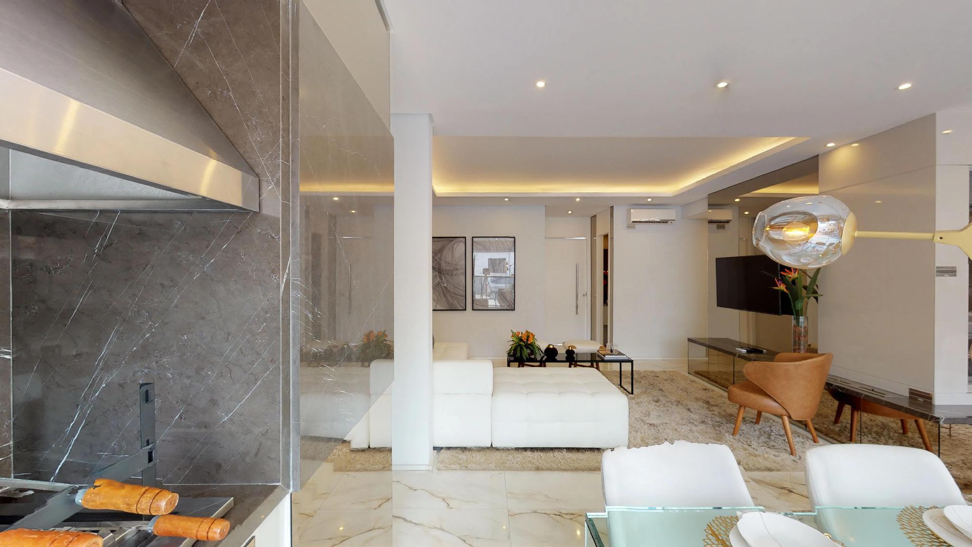 Imagem do Apartamento ID-2070 na Rua Doutor Miranda de Azevedo, Vila Anglo Brasileira, São Paulo - SP