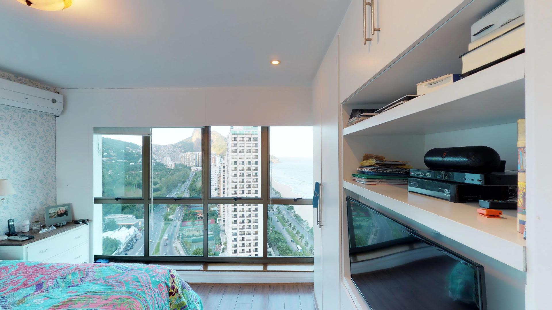 Imagem do Apartamento ID-345 na Avenida Prefeito Mendes de Morais, São Conrado, Rio de Janeiro - RJ