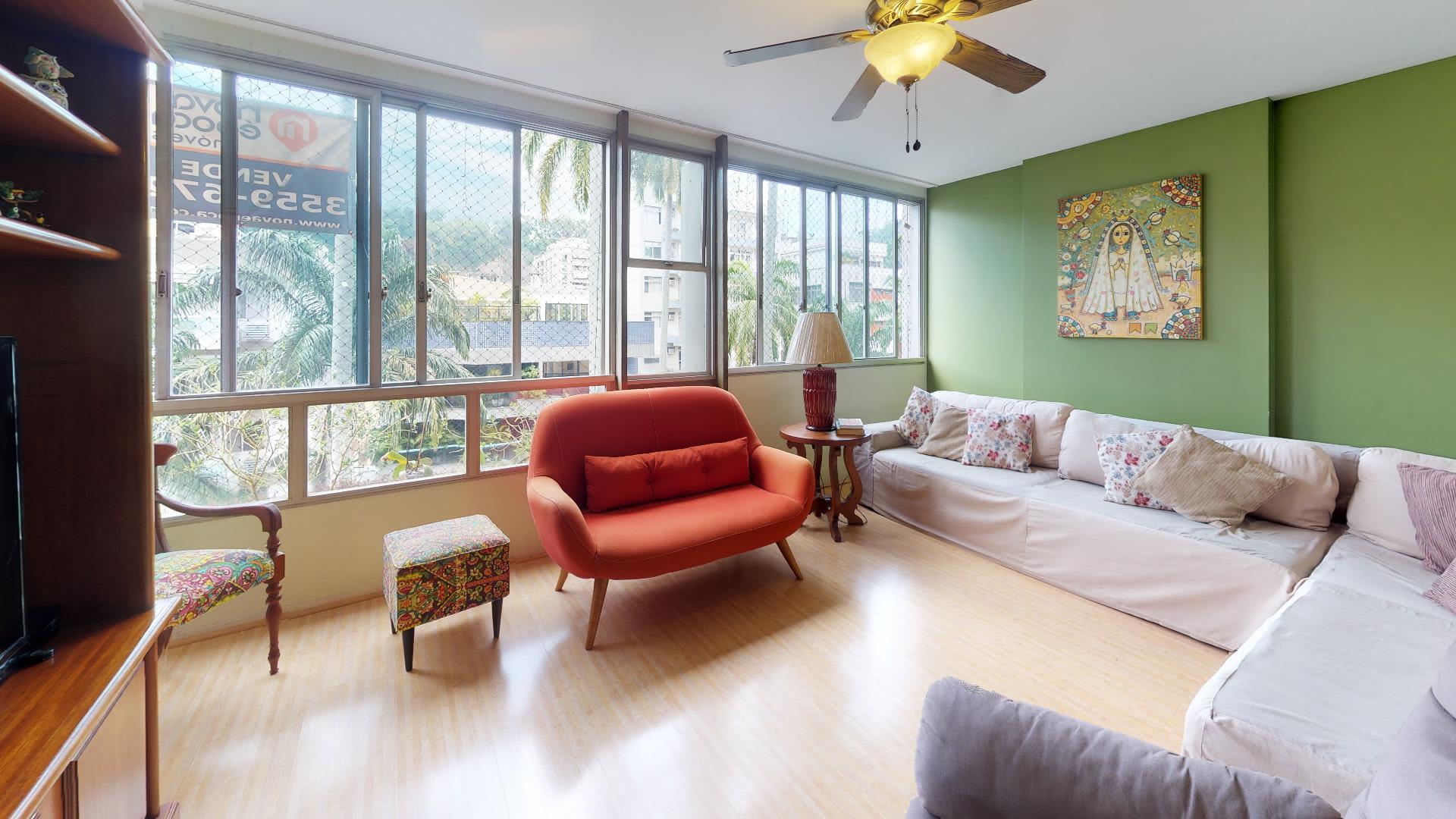 Imagem do Apartamento ID-2191 na Rua Paissandu, Flamengo, Rio de Janeiro - RJ