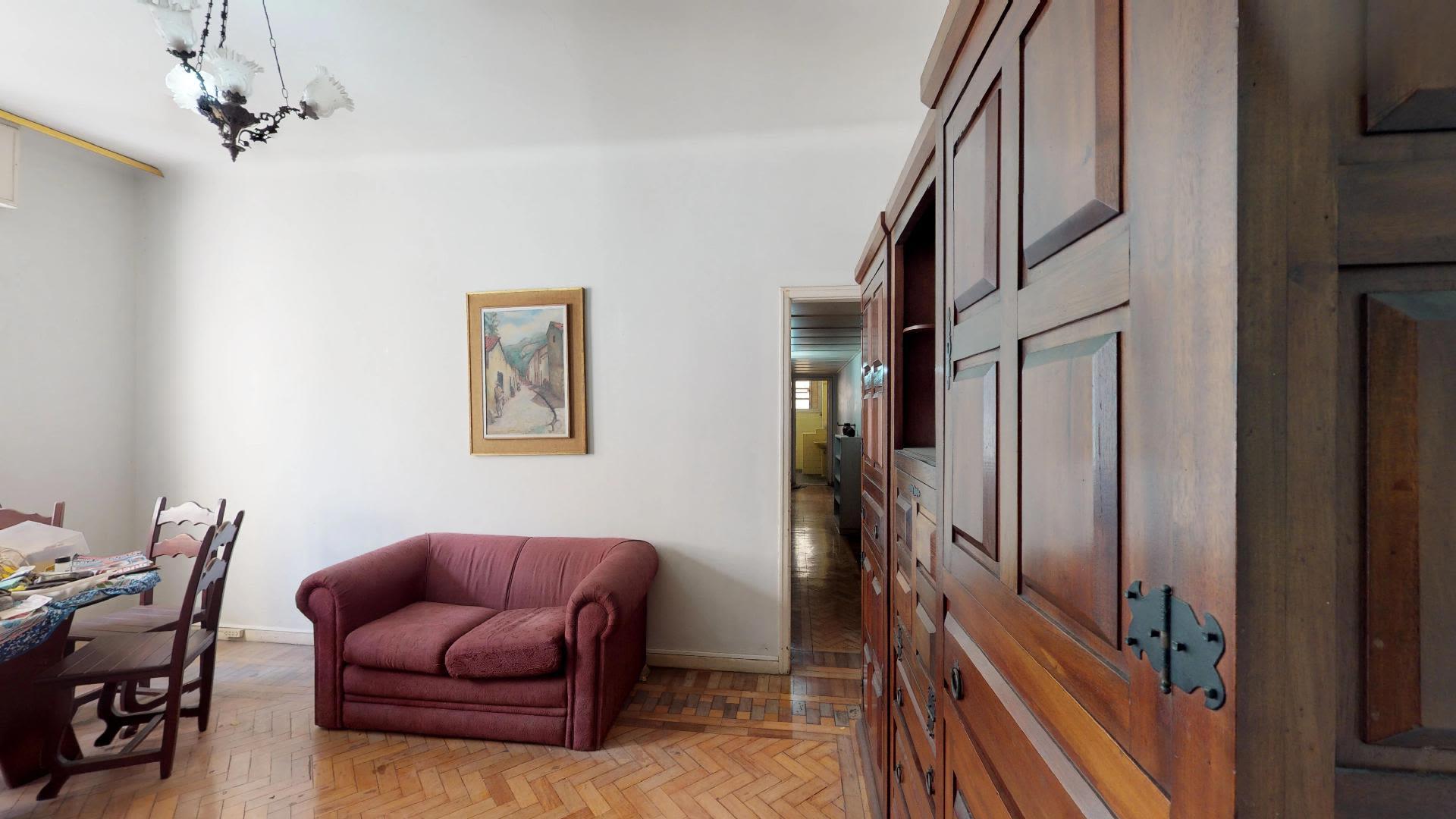 Imagem do Apartamento ID-1343 na Rua das Laranjeiras, Laranjeiras, Rio de Janeiro - RJ