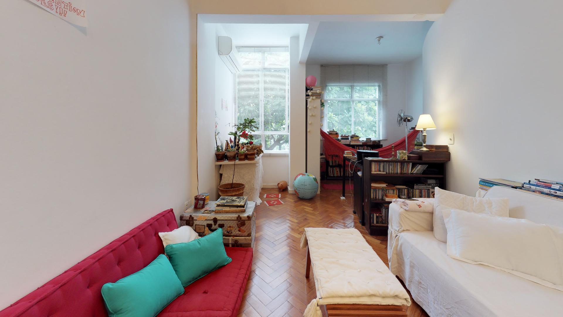 Imagem do Apartamento ID-932 na Rua Humaitá, Humaitá, Rio de Janeiro - RJ